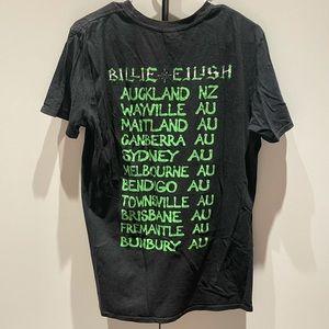 Billie Eilish tour shirt